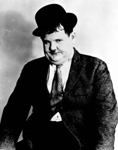 Portrait of Oliver Hardy