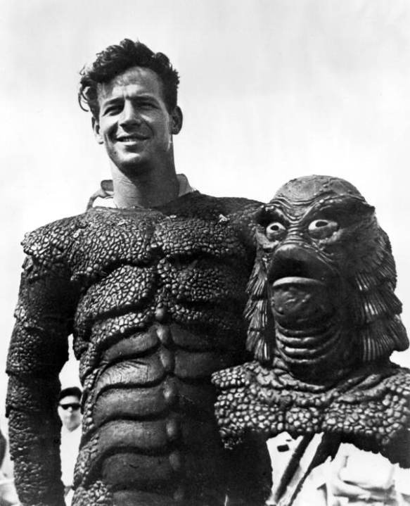 Ricou Browning as the Creature From the Black Lagoon