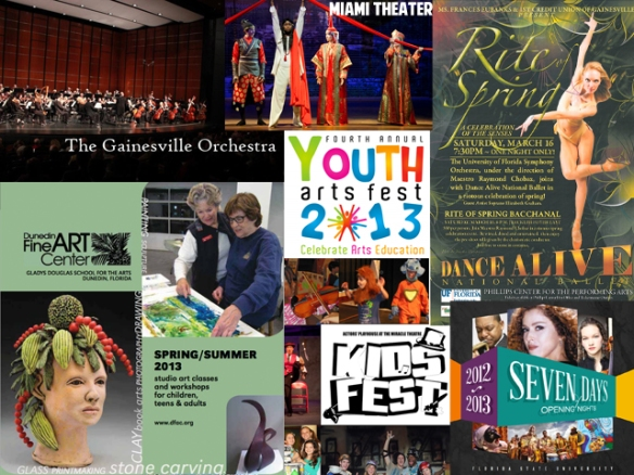 Some of the organizations and events funded with 2012-2013 DCA grants.
