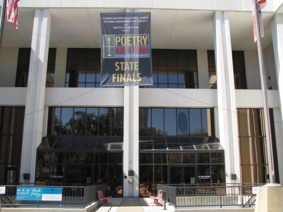 The competition was held at the R.A. Gray Building in downtown Tallahassee.