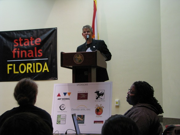 The event was hosted by Sandy Shaughnessy, Director of the Florida Division of Cultural Affairs.