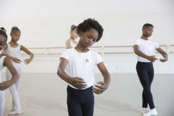 Ballet Bus students