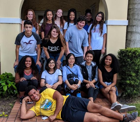 Arts Aspire Summer Group
