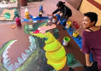 Peter Pan Set Painting